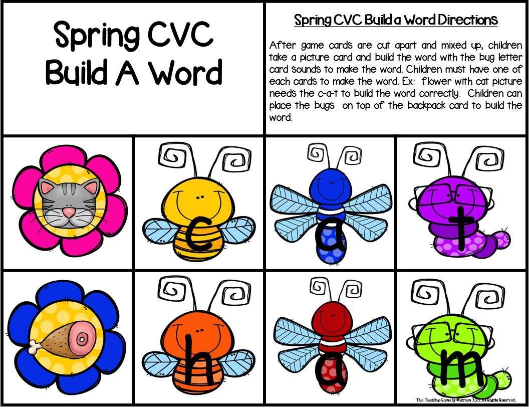 Spring Build A Cvc Word