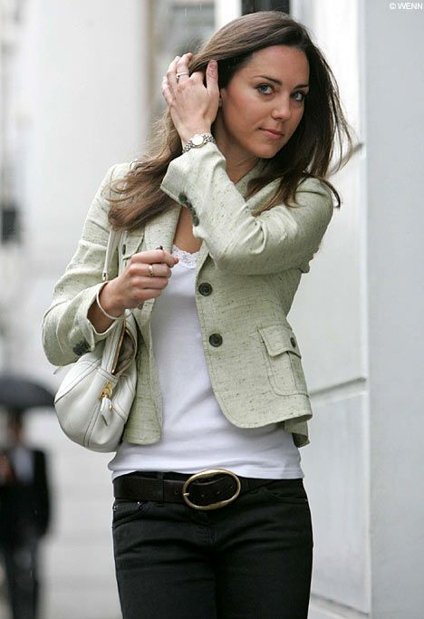 Kate Middleton's simple style!