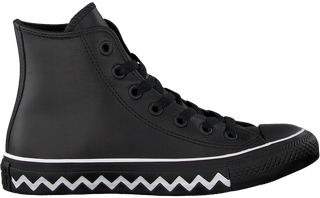 Zwarte Converse Sneakers Chuck Taylor All Star Hi Dames ...