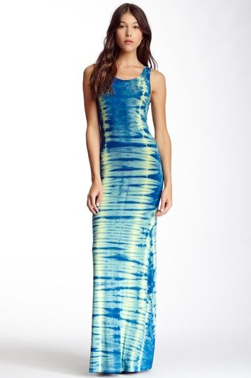 Tie-Dye Racerback Maxi Dress on HauteLook