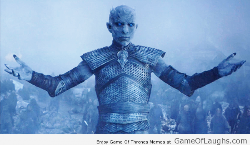 All the exciting GIF's from Game of Thrones episode Hardhome