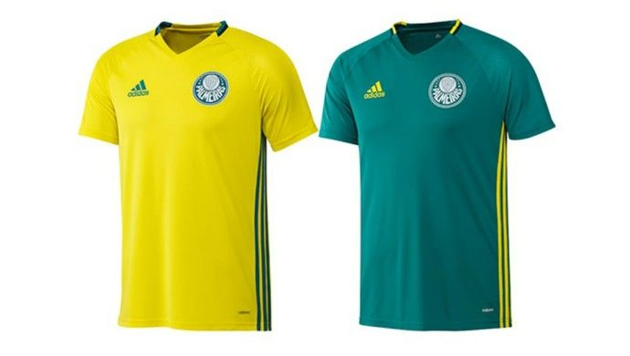 20370f9bf5 Palmeiras lança uniforme de treino nas cores verde e amarela ...