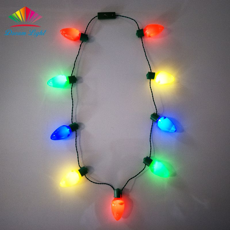 Pin En Led Headband And Necklace
