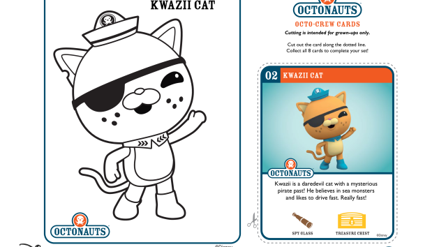 The Octonauts Coloring Pages And Crafts On Disney Junior Octonauts Disney Junior Coloring Pages