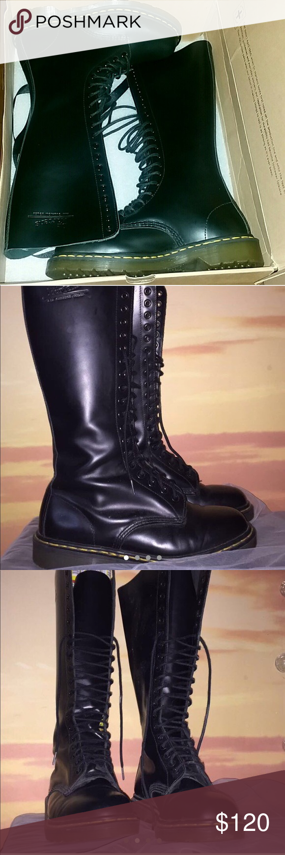 undici Esperto Dissipare  Dr Marten 20 eye 9663 Smooth Boots Dr Marten 20 eye 9663 Smooth Boots Great  condition! Some creases from wearing but that happens wit… | My Posh Picks  in 2019…