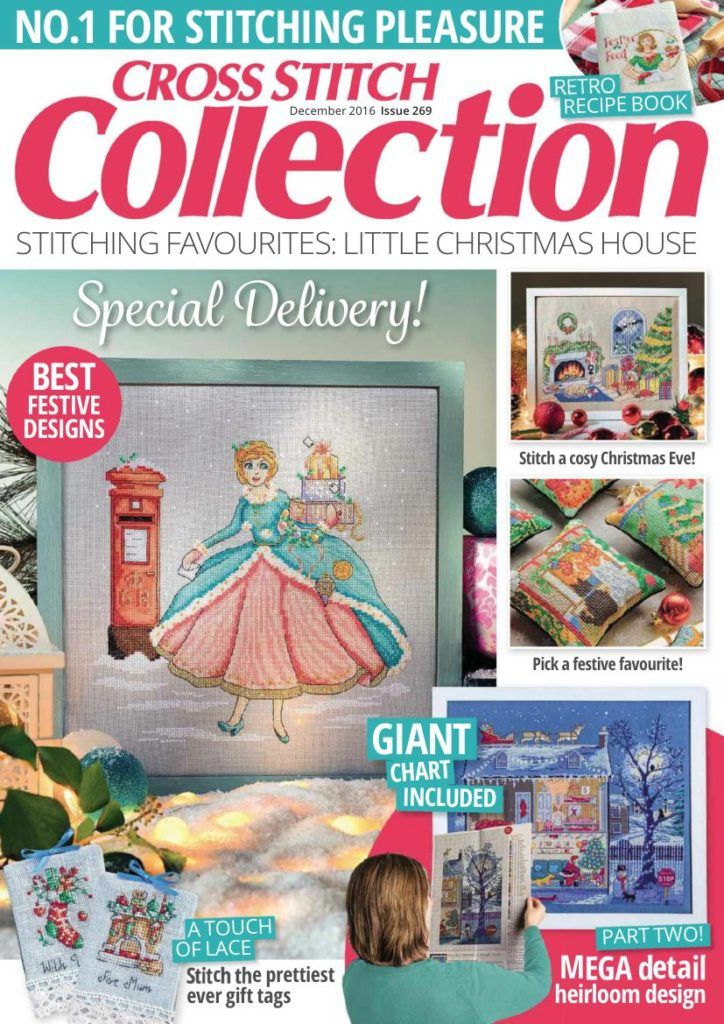 Pdf Magazine Download >> Download Cross Stitch Collection December 2016 Pdf Magazine
