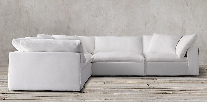 Cloud Cube Modular Sectionals Restoration Hardware