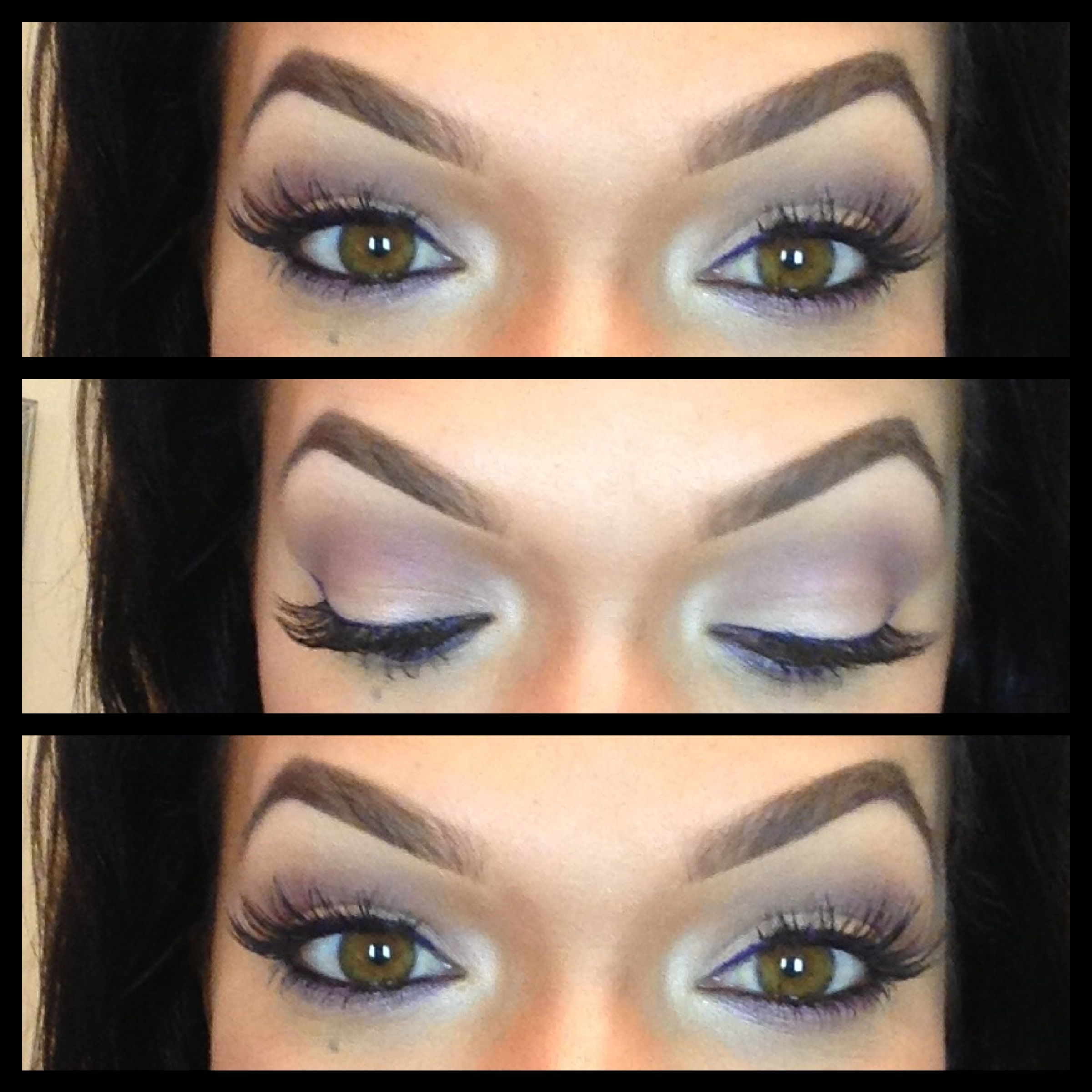 Purple Eyeshadow For Hazel Eyes Very Light Brown Eyes