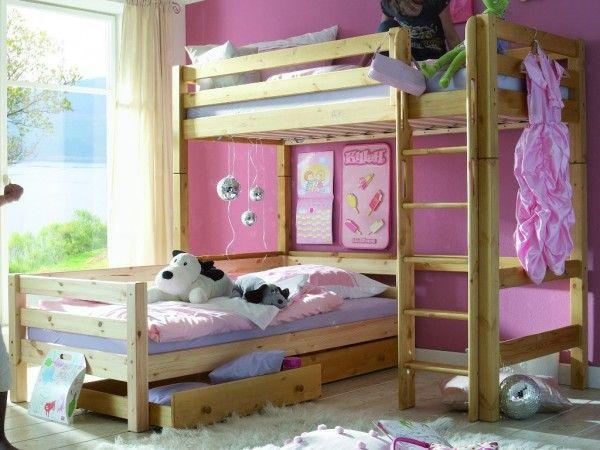 Flexa Etagenbett In L Form : Die perfekte lösung fürs kinderzimmer etagenbett l form infanskids