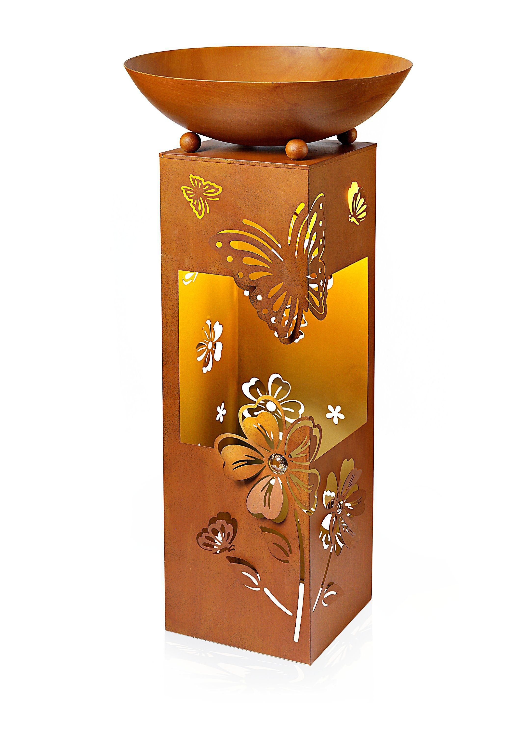 Pflanzsaule Butterfly Mit Led Beleuchtung Bestellen Weltbild De Led Beleuchtung Led Beleuchtung