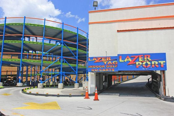 LazerPort Fun Center in Pigeon Forge is the largest laser tag arena