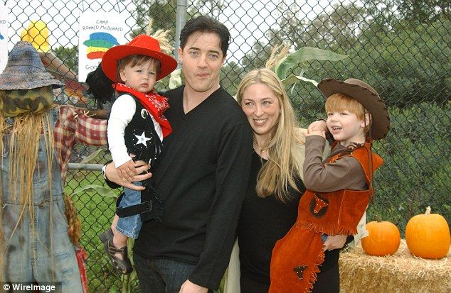 Is Afton Smith Dating After Divorce With Husband Brendan Fraser