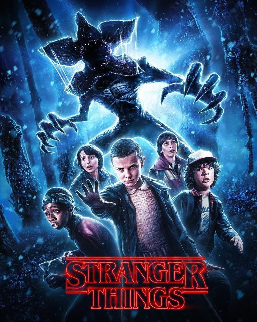 Halloween Horror Nights 2019 Poster.New Poster Of Stranger Things For Universal Studios