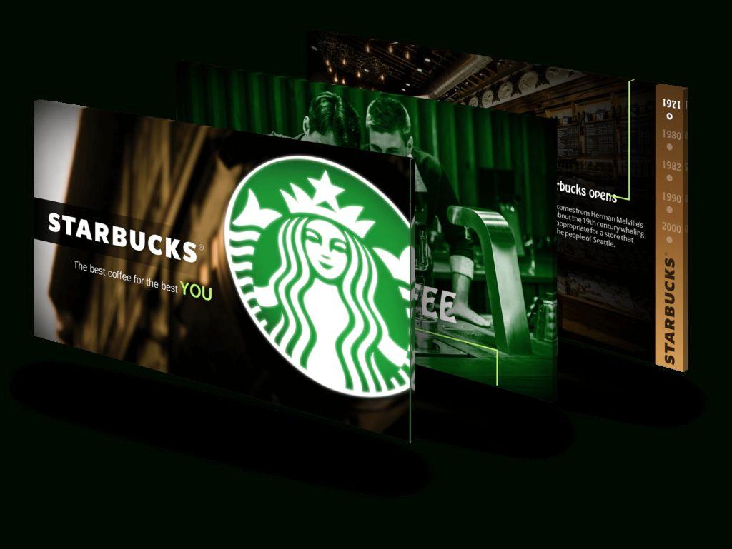 Starbucks Powerpoint Designers Presentation & Pitch
