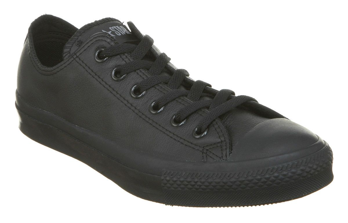 Converse Shoes Black Leather