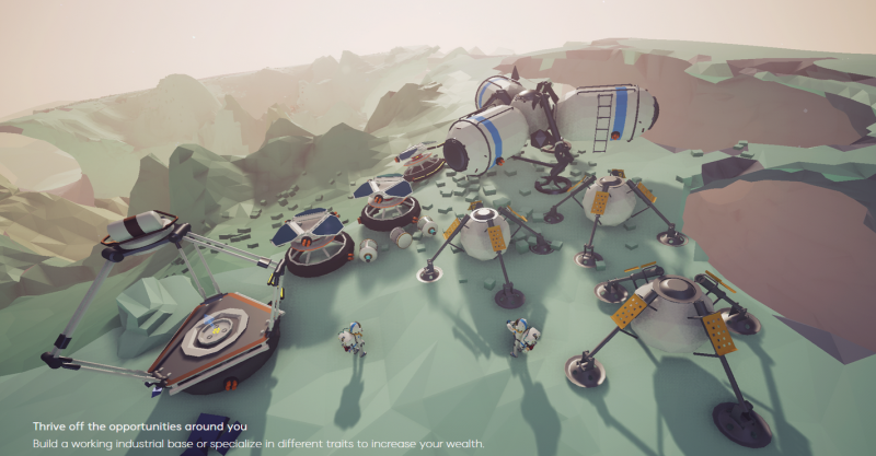 Upcoming Astronaut Space Exploration Game Looks Amazing Space