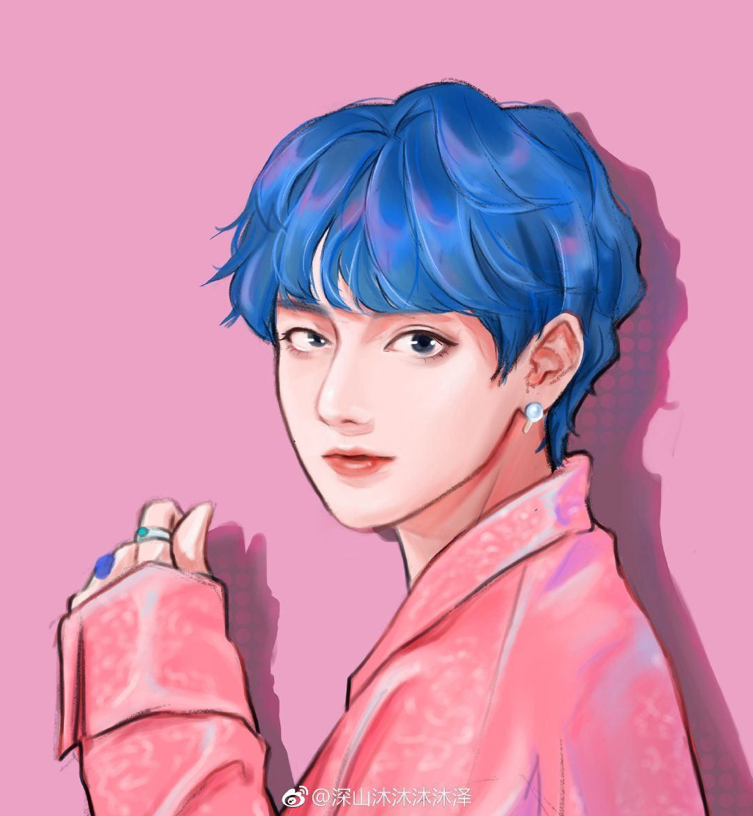 Looking Cool Baby Looking Cool Baby Animefantasy Animehair Animenaruto Baby Btsanime Cool In 2020 Taehyung Fanart Bts Fanart Bts Drawings