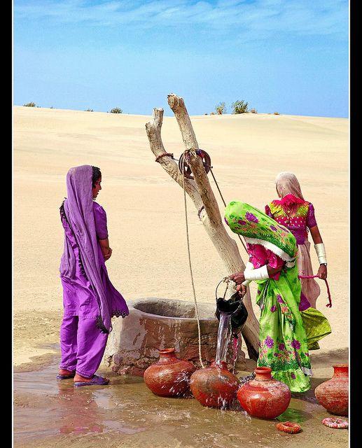 Der Aufwand für ein Glas Wasser hängt stark davon ab wo man lebt. #Brunnenspende