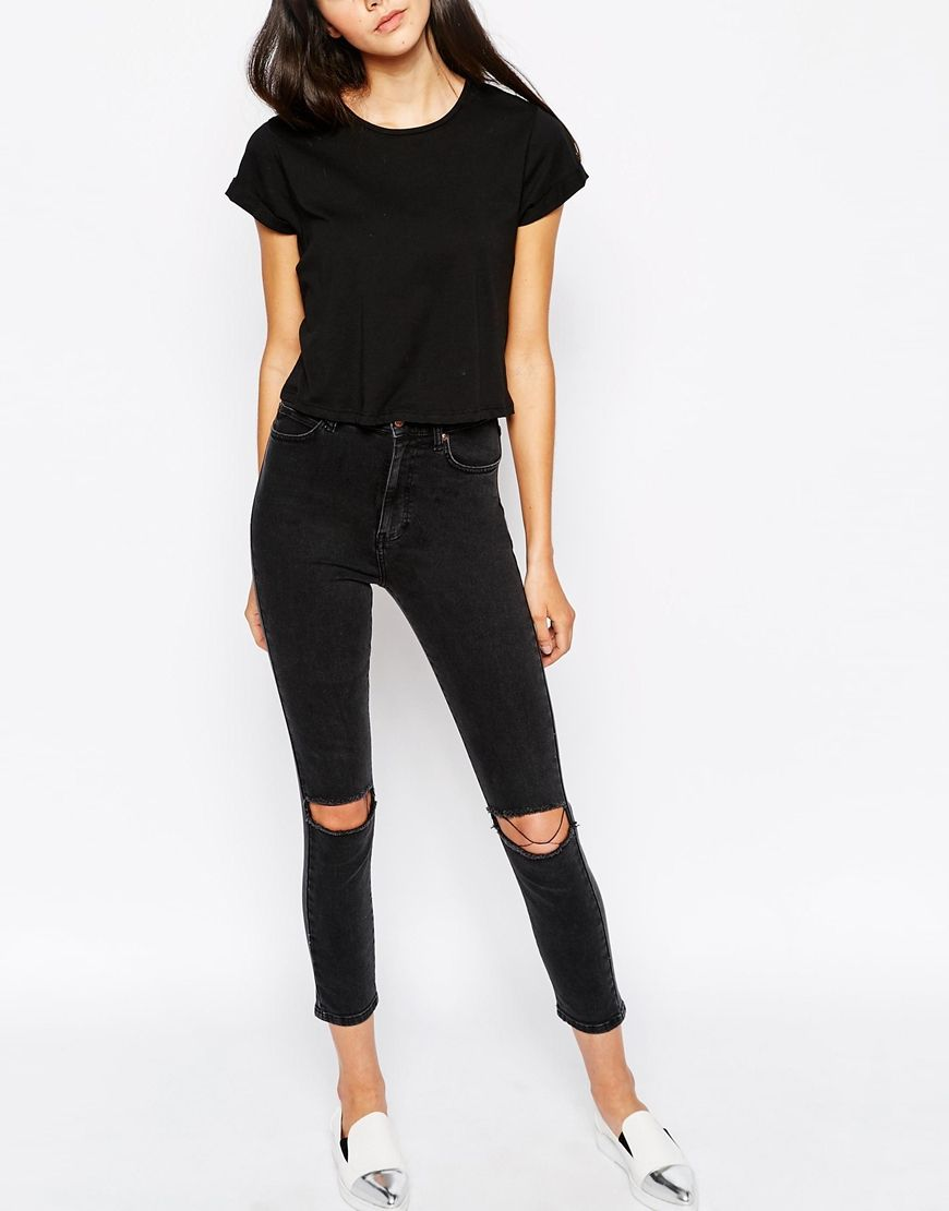 Dr denim high waisted skinny jeans – Global fashion jeans models
