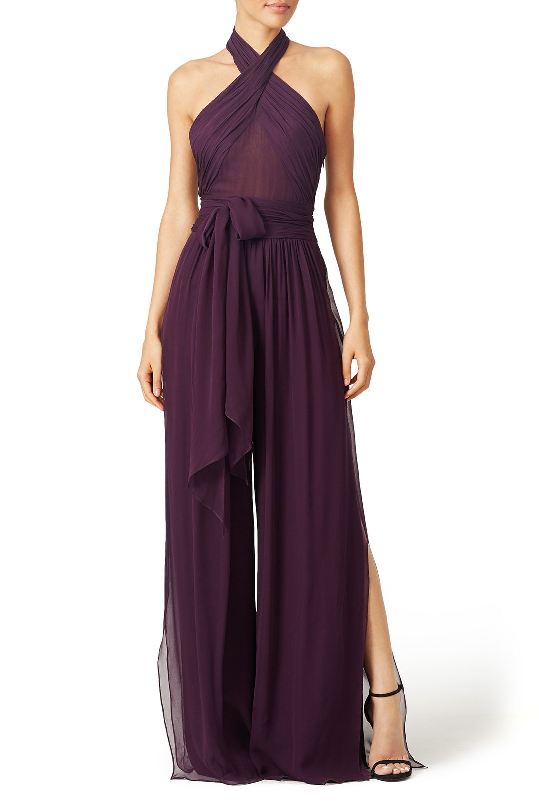 50d30bbe2e Purple Robbins Jumpsuit by Rachel Zoe for $100 | Rent The Runway ...