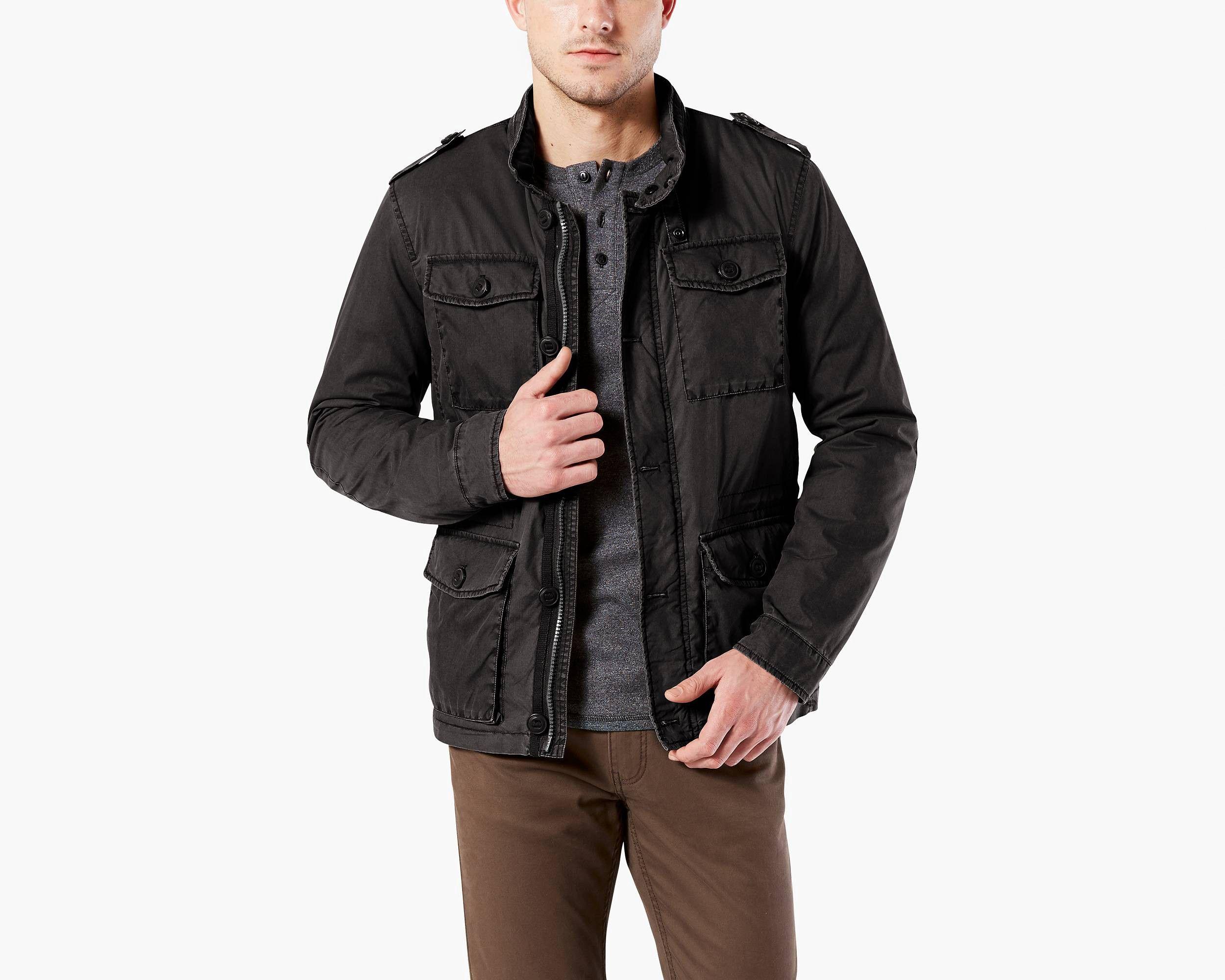 Dockers Field Jacket S Jackets, Field jacket, Military