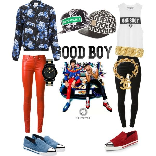 GD And Taeyang Good Boy Inspired Outfit | Moda | Pinterest ...