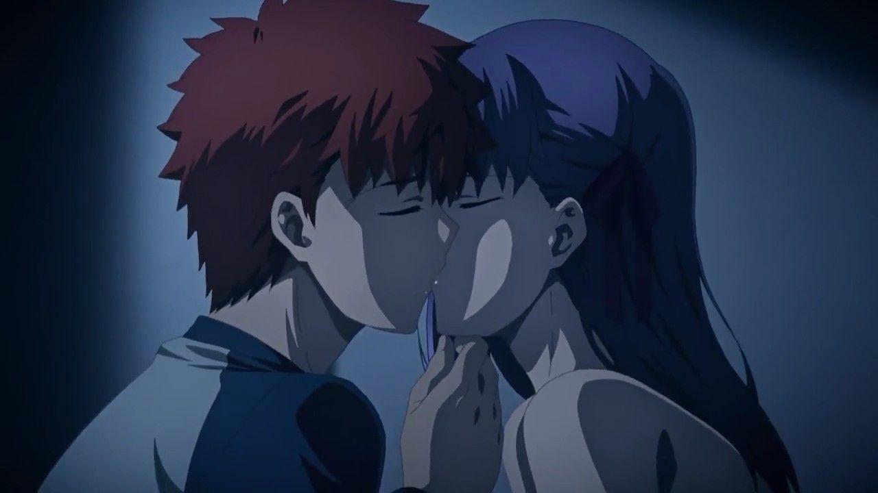 Image result for sakura matou kiss