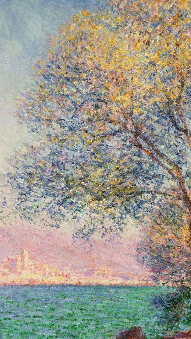 Typography Aesthetic Claude Monet 1840 1926 絵画 モネの絵画