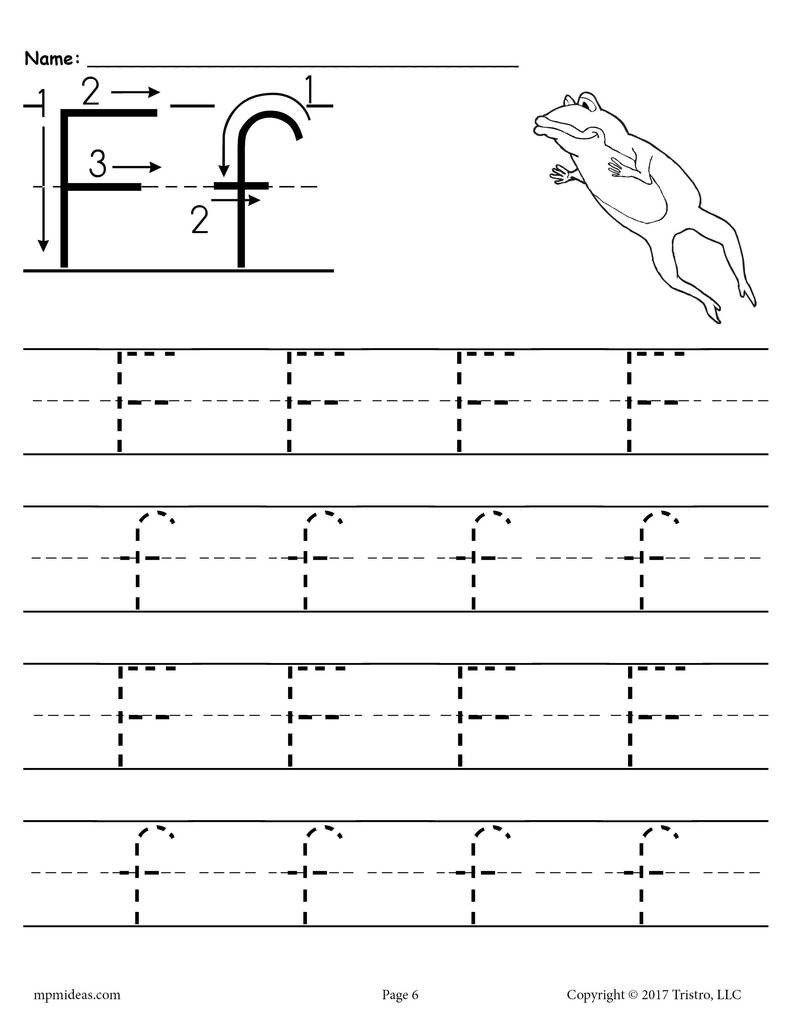 Letter F Worksheets Preschool Printable Letter F Tracing Worksheet In 2020 Kindergarten Worksheets Kindergarten Worksheets Printable Printable Alphabet Worksheets