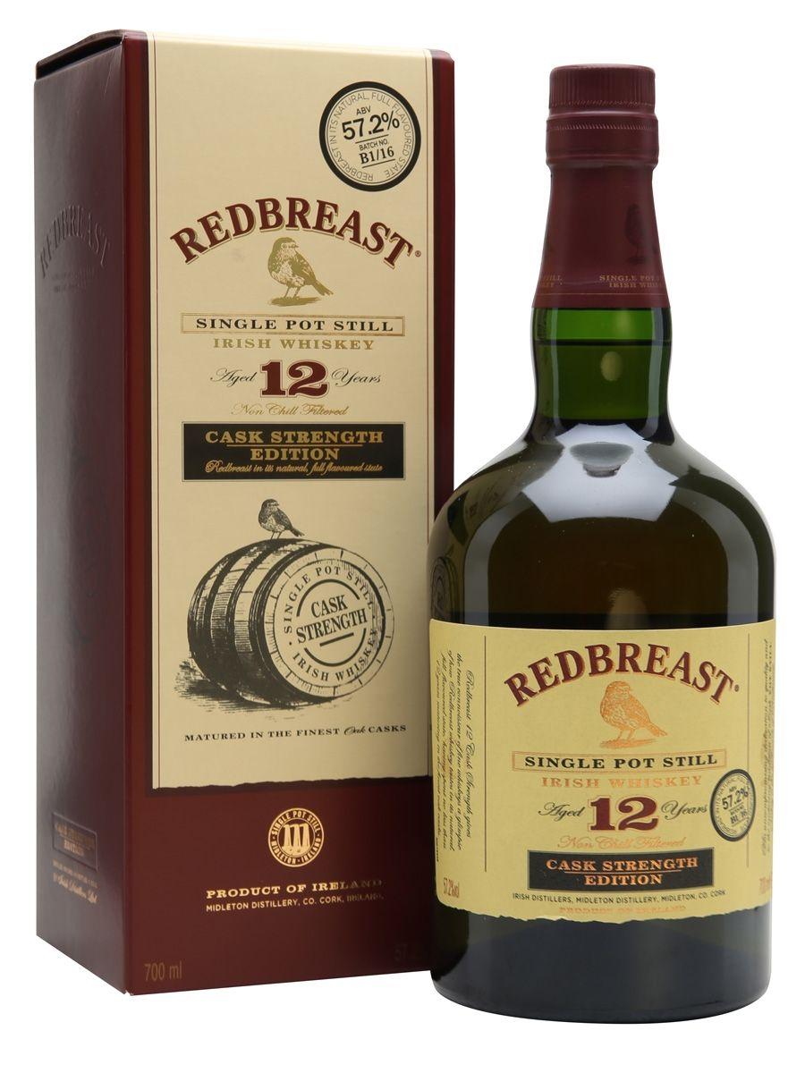 Redbreast 12 Year Old Cask Strength Batch B1 16 Irish Whiskey Whiskey Whisky