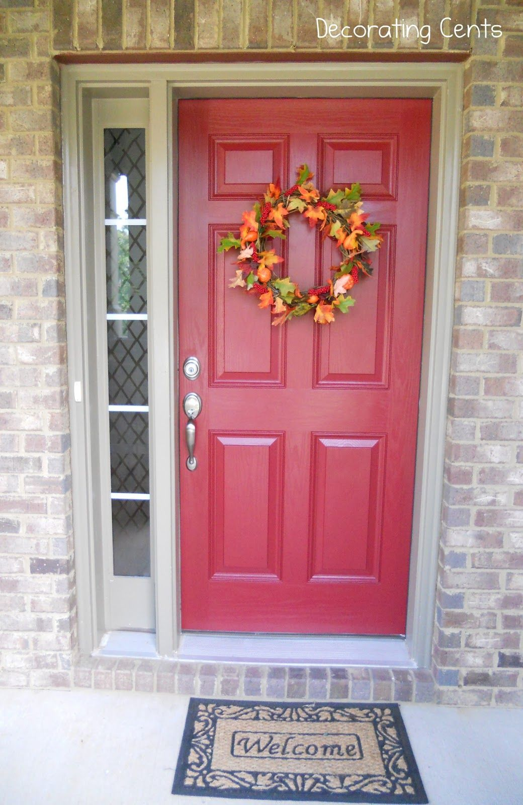 Red Front Door- excited to be painting our door this color! | For ...
