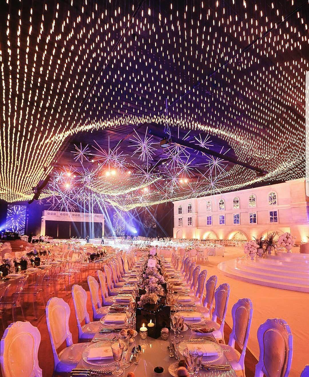 Wedding venue decoration images  A grandeur modern wedding by bypaulnasr lebaneseweddings