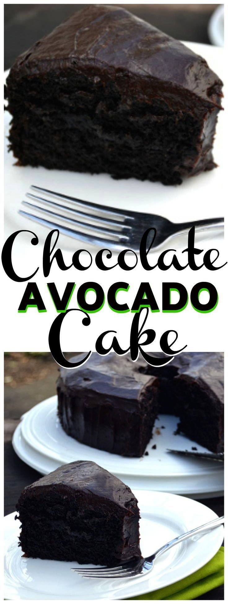 Avocado Cake With Chocolate Avocado Buttercream Frosting - Crafty Cooking Mama Chocolate Avocado Ca
