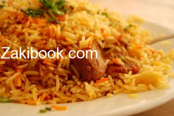 طريقة عمل الرز البرياني السعودي Recipe Chicken Biryani Recipe Biryani Recipe Biryani