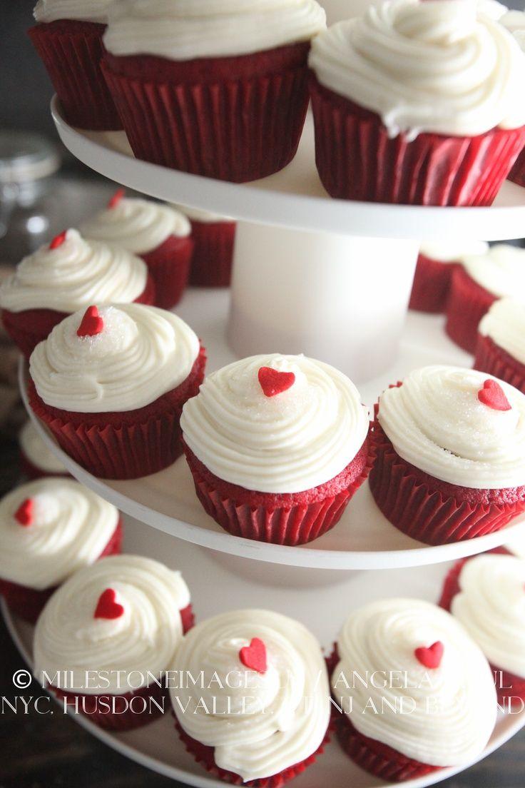 Red Velvet Cupcakes Wedding Reception