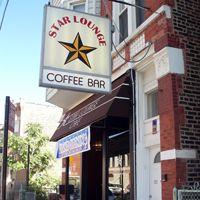 Star Lounge serving Dark Matter Coffee, Chicago