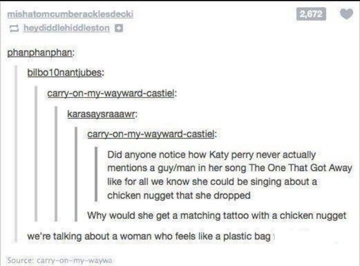 The Chicken Nugget That Got Away Funny Me Funny Tumblr Posts