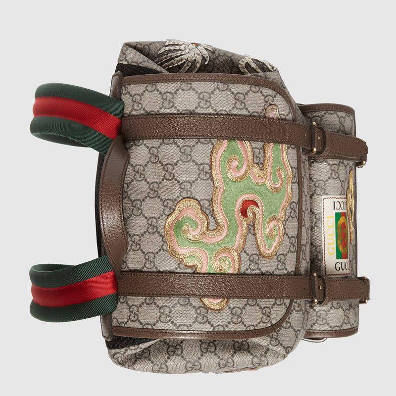 63b3bd370877d0 Courrier soft GG Supreme backpack in 2019 | BACKPACK | Supreme ...