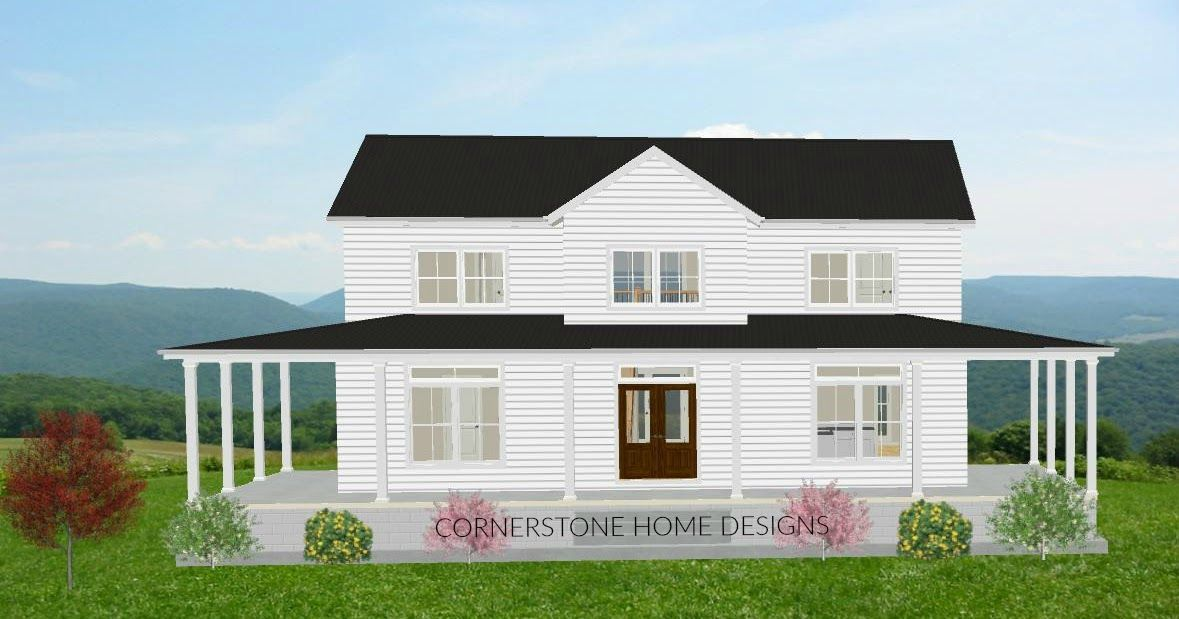 The Magnolia Series Click To Enlarge To Read Our Reviews Go Here House Plan Reviews This Simple Farmhouse Plans Farmhouse Layout Farmhouse Plans