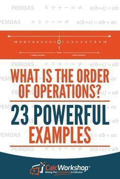 Order or Operations - FANTASTIC unit with 23 Example Problems. This ...