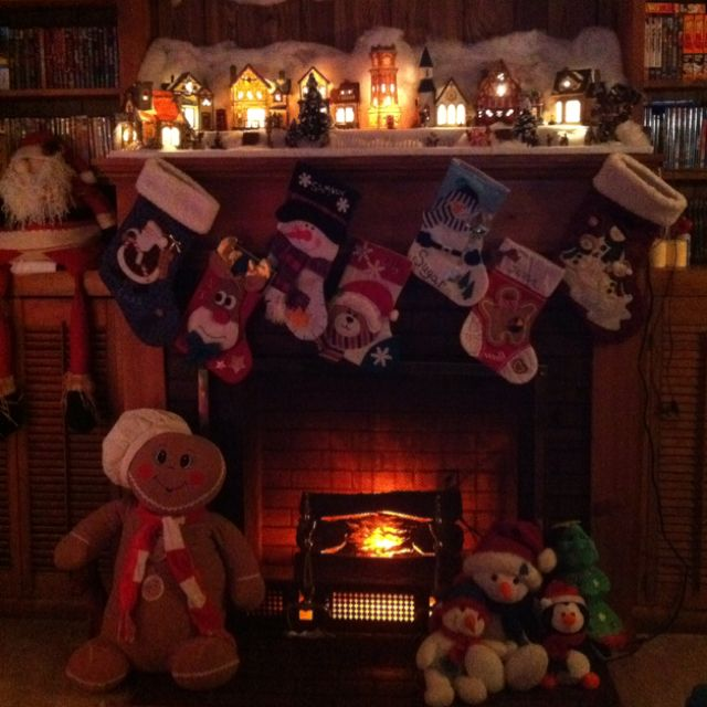 My fireplace and mantle