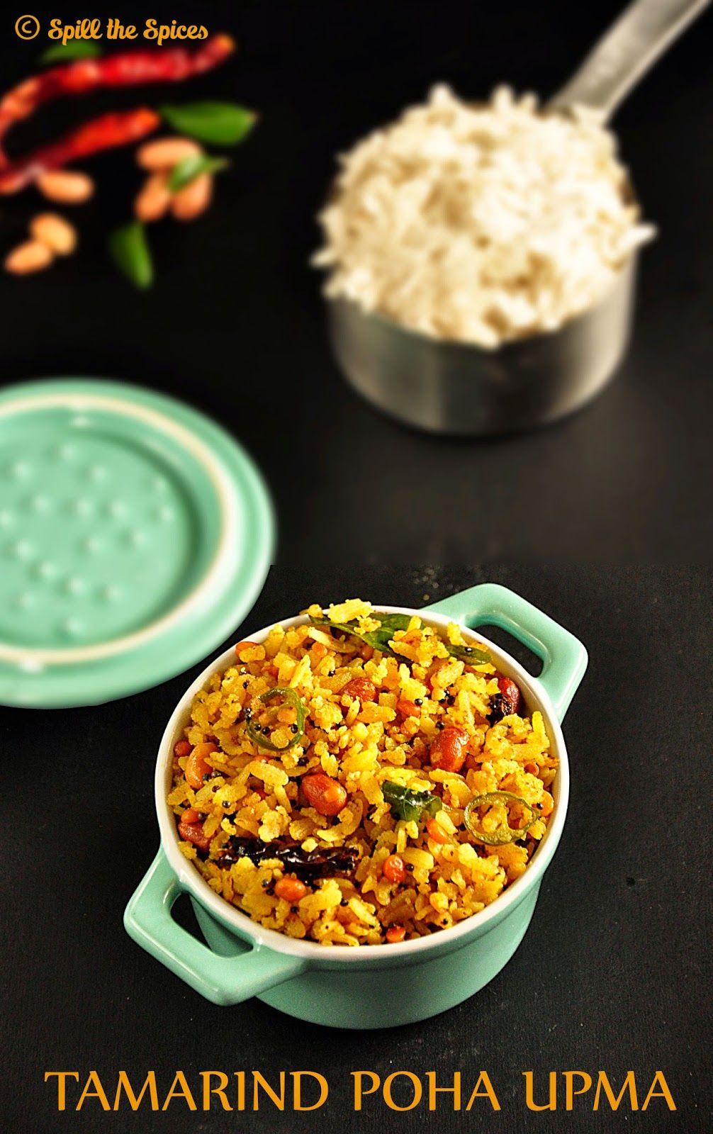 Puli Aval Tamarind Poha Upma Upma Recipe Quick Dishes Soup Recipes
