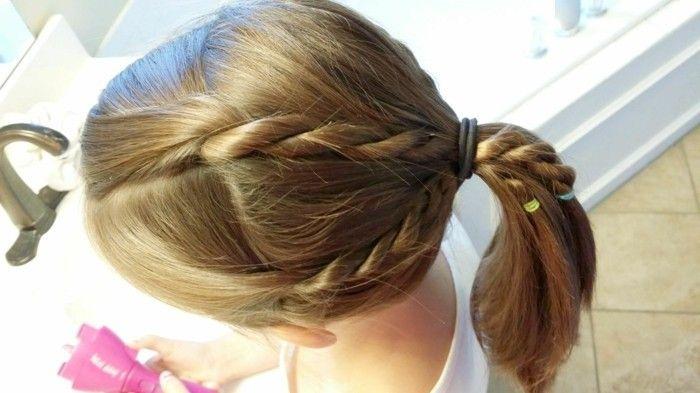 Schnelle Und Einfache Frisuren Für Mädchen Einfache Frisuren