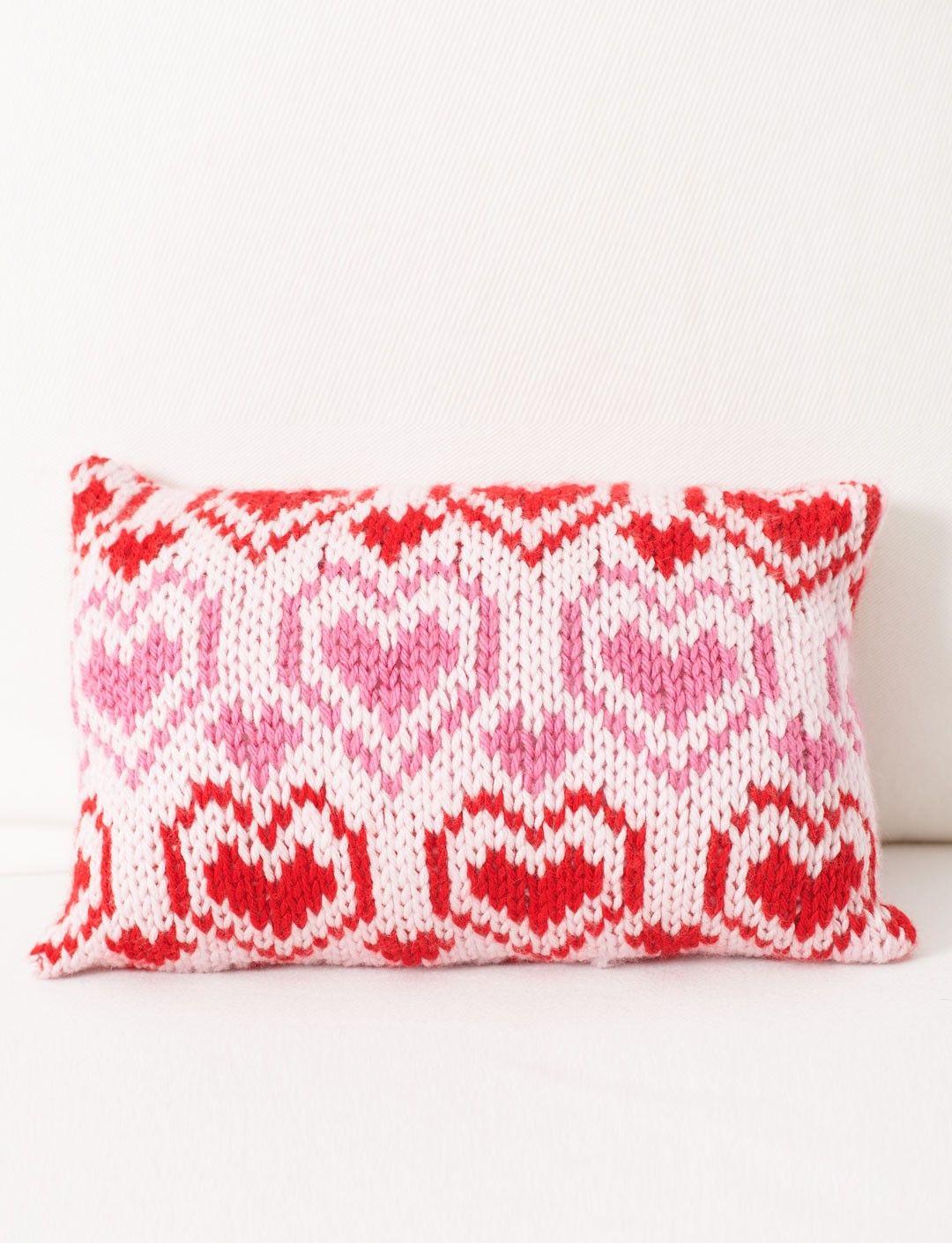 Yarnspirations.com - Bernat Comfort Pillow - Patterns ...