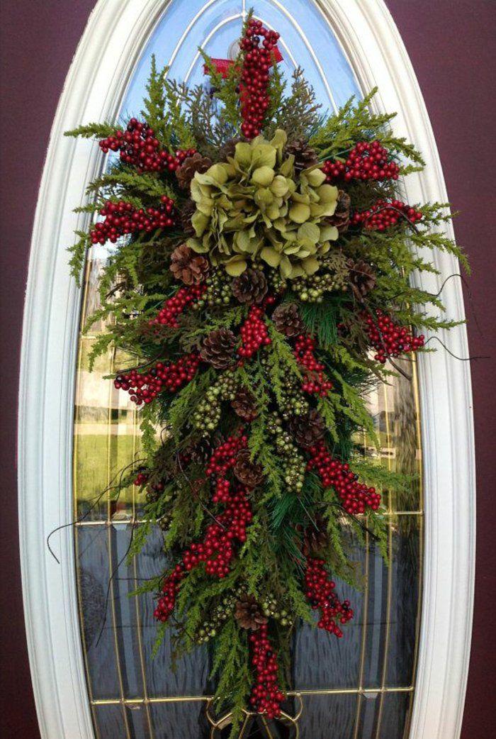 Comment incorporer la branche de sapin dans la décoration? Decoration - porte d entree d occasion