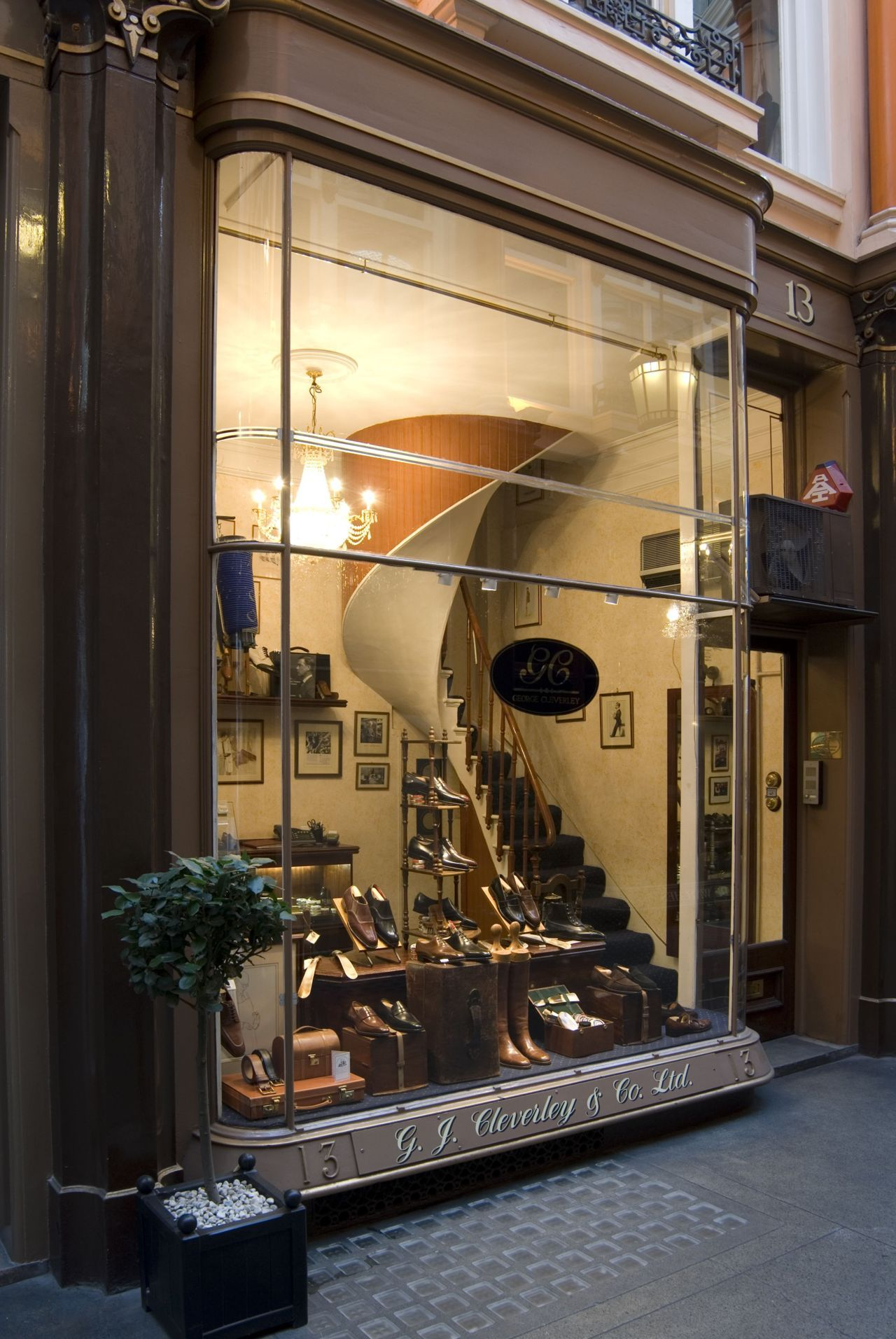 Shoe Store Front ~ Pretty Staircase Wow I Wonder Where