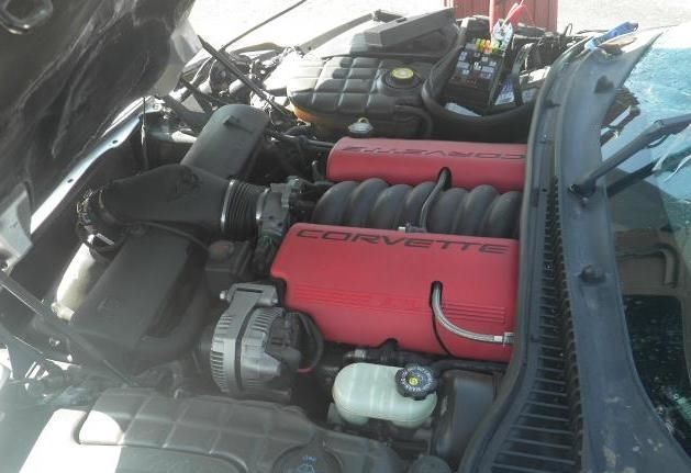2001 C5 Corvette Z06 Ls6 Engine Assembly Complete Drop Out Corvette Z06 Engines For Sale Corvette
