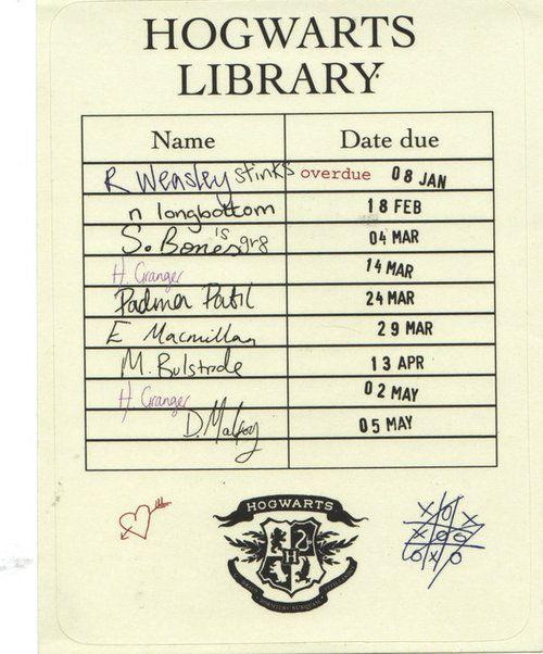 Hogwarts Library en 2019 | Libros de harry potter