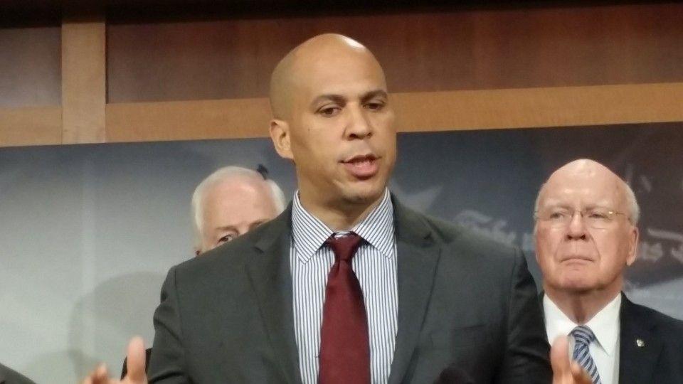 Cory booker announces criminal justice bill criminal