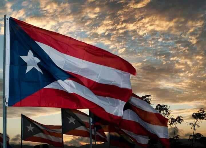 Beautiful Sunrise Puerto Rico Flag Puerto Rico Flag Puerto Rican Culture Flags Of The World